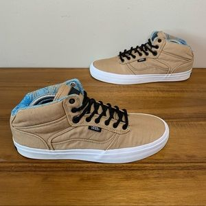 Vans Off the Wall Mid Skate Shoes Mens Size 8.5